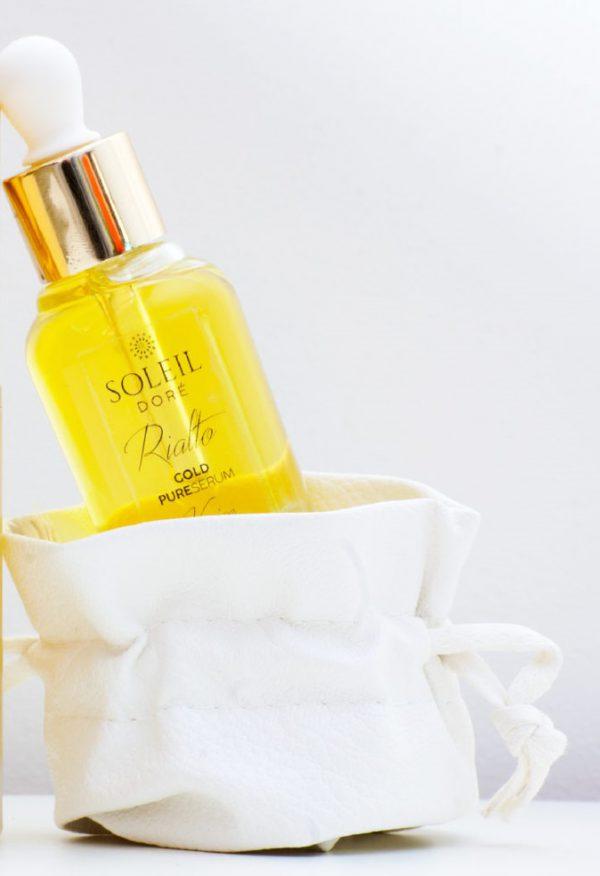 Siero Viso Oro Anti-age all'azalea e Lilla - Rialto Gold Pure Serum